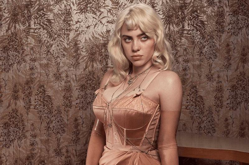 Фотосессия Билли Айлиш для журнала Vogue