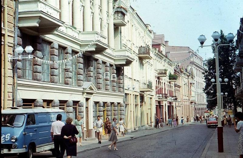 Фото улиц времен ссср