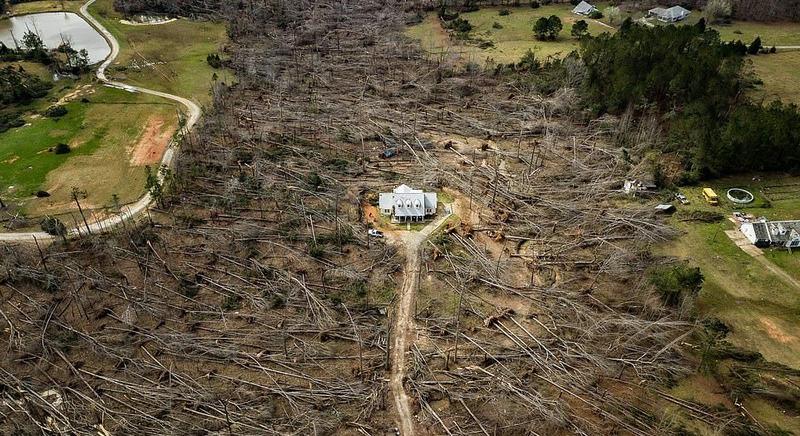 после торнадо