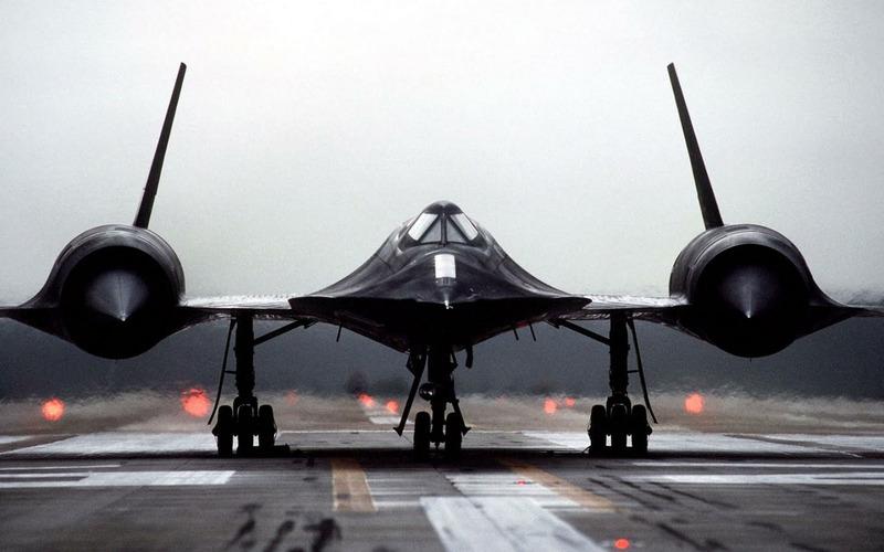 Сверхзвуковой самолёт Lockheed SR-71
