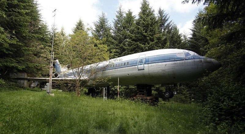 дом из самолета Boeing 727
