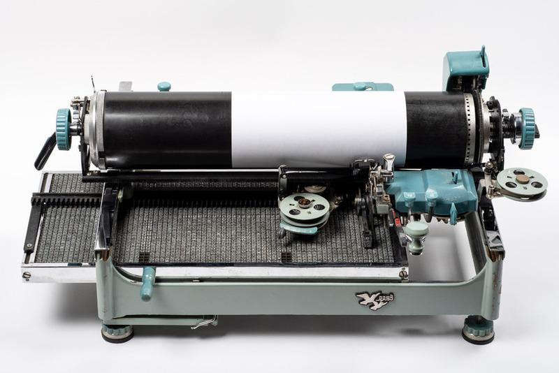Китайская пишущая машинка Двойной голубь