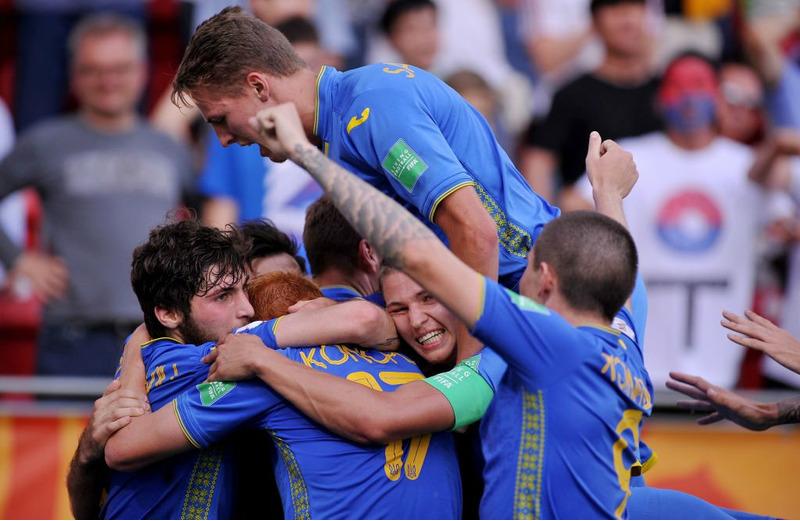 молодежная Сборная Украины по футболу