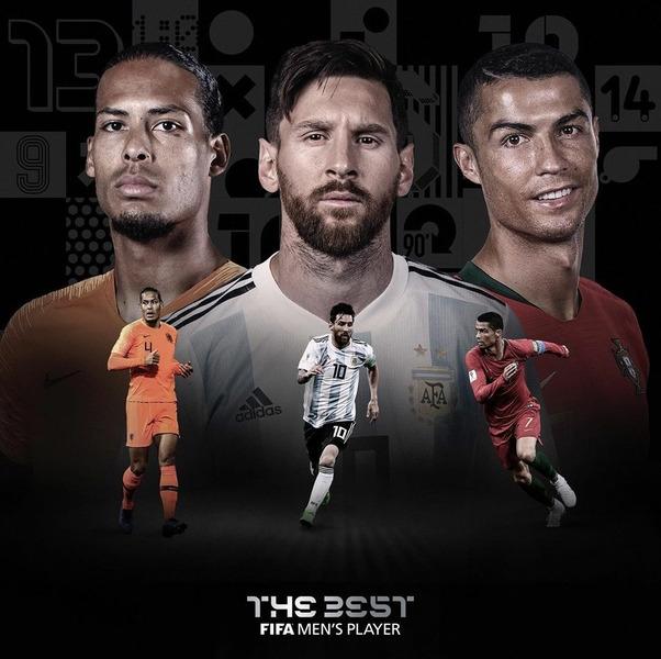 претенденты на звание Футболист Года по версии ФИФА