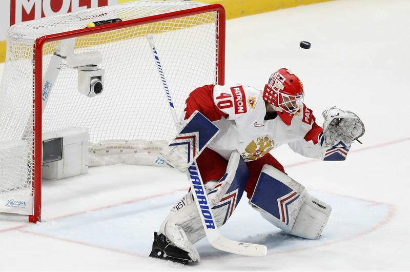 Российский хоккеист Александр Георгиев