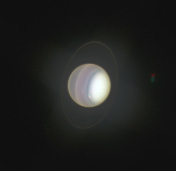 Уран, Хаббл, космос,