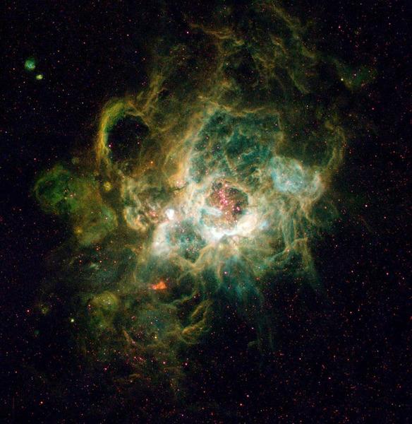 Туманность NGC 604