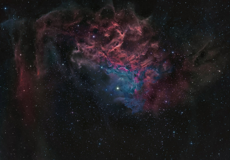 Туманность IC 405
