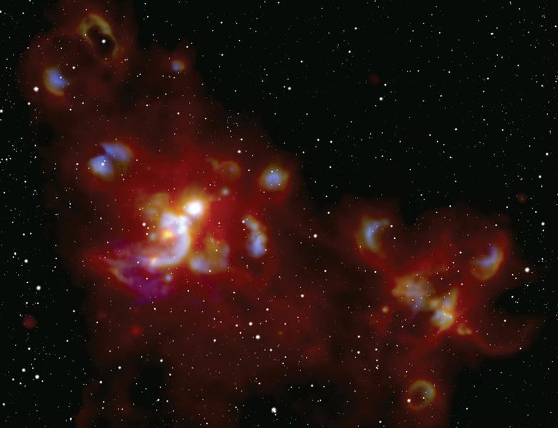 Молекулярное облако W51
