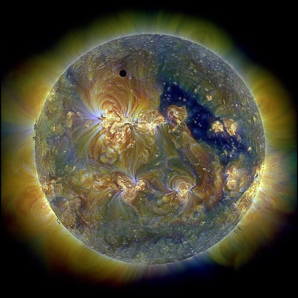 Прохождение Венеры перед Солнцем