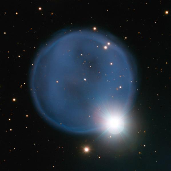Планетарная туманность Abell 33: изображение, полученное Большим Телескопом ESO