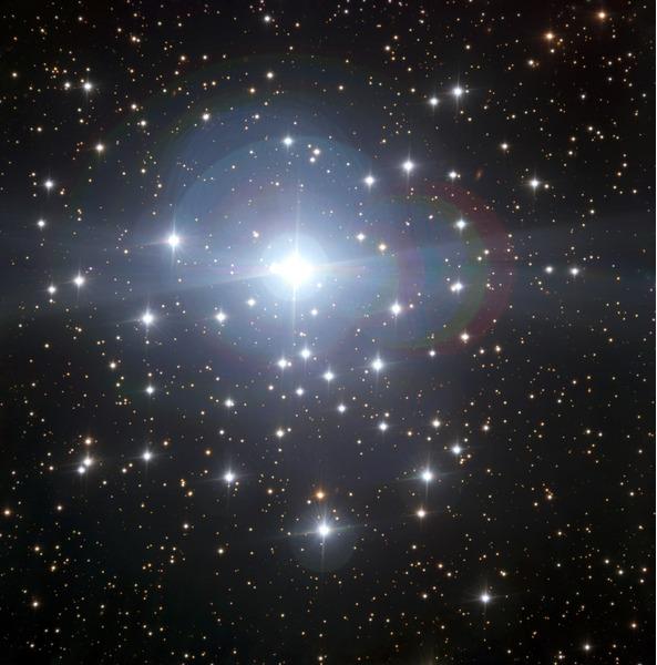 Звезды Большого Пса (NGC 2362)