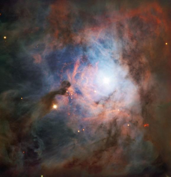 NGC 2023 в созвездии Ориона – одна из крупнейших отражательных туманностей на небе.