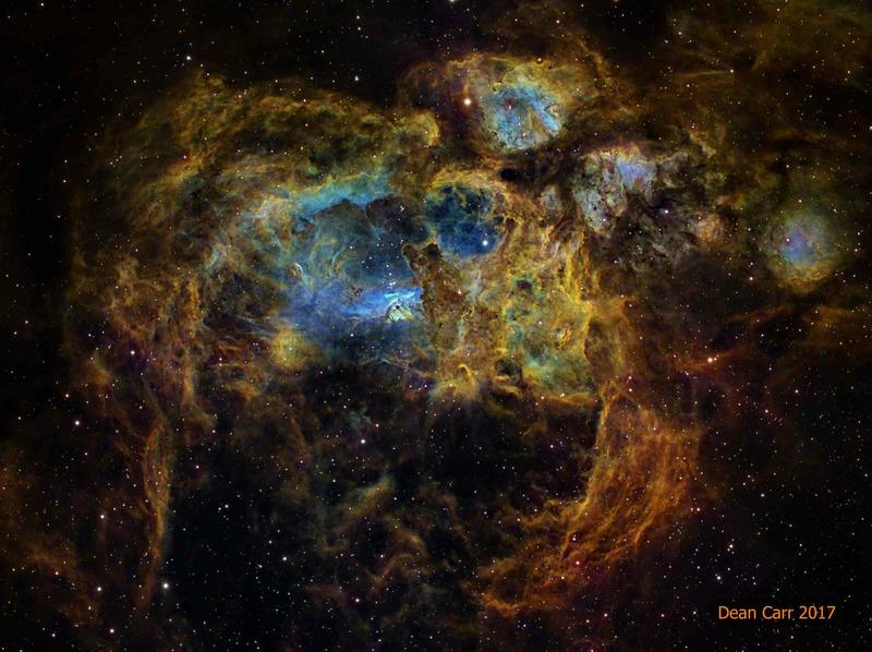 Туманность Лобстер (NGC 6357)