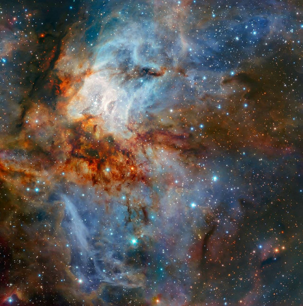 Звездное скопление RCW 38