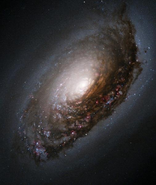галактика Чёрный Глаз (M64)