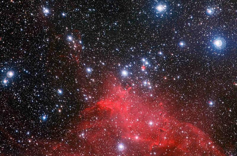 Звёздное скопление NGC 3572