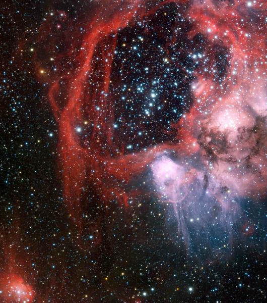 Эмиссионная туманность NGC 1935