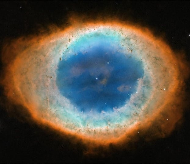 Туманность Кольцо в созвездии Лиры