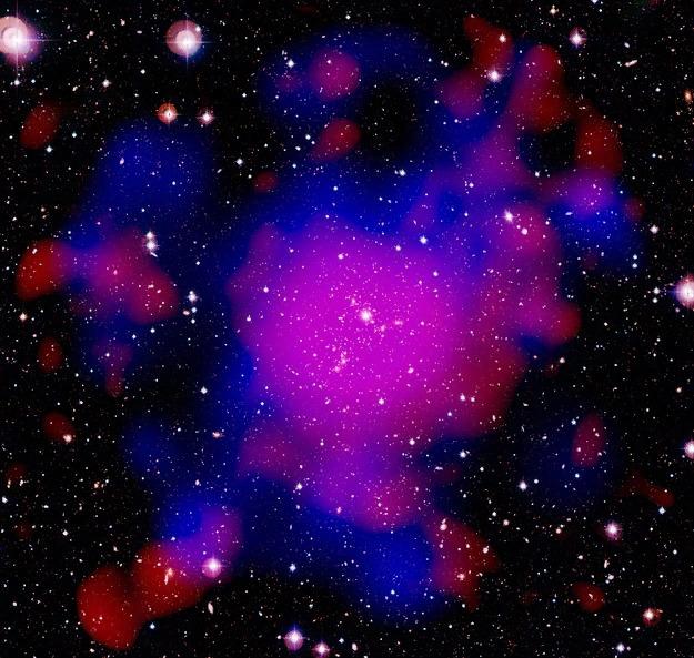 Скопление галактик Abell 2744