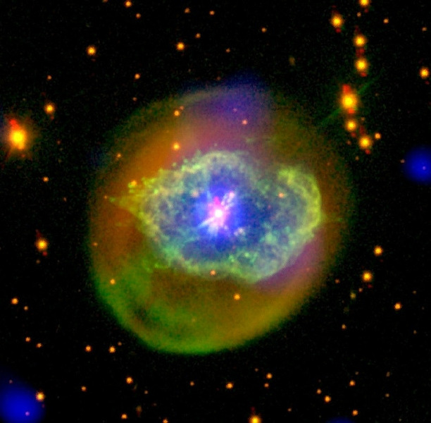Планетарная туманность Abell 78 в созвездии Лебедь