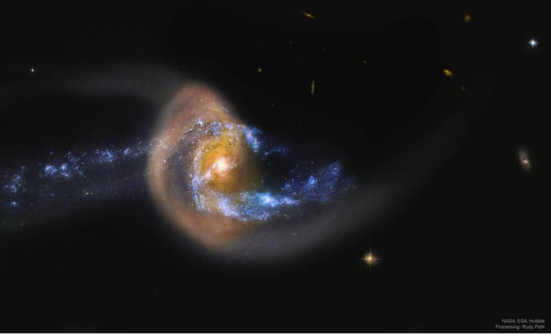 Галактика NGC 7714