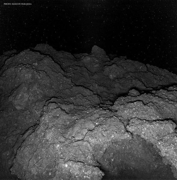 Поверхность астероида Рюгу