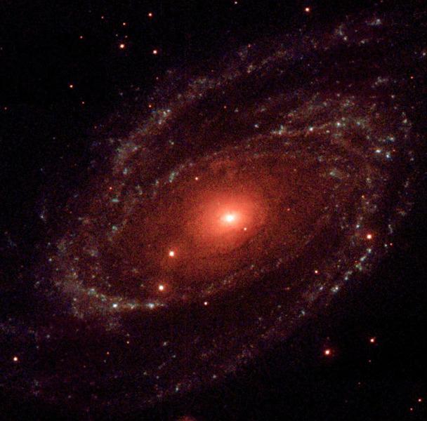 Ультрафиолетовое изображение галактики Боде