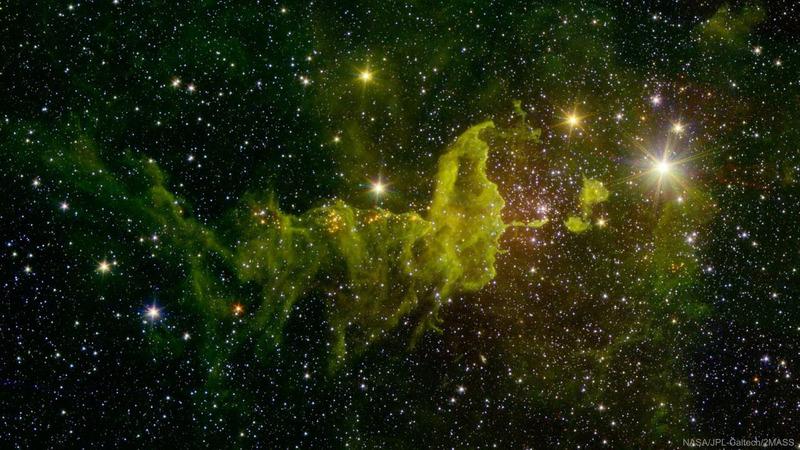 Эмиссионная туманность IC 417