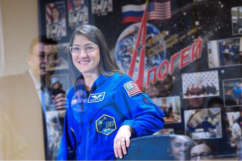 Кристина Кох американская женщина астронавт
