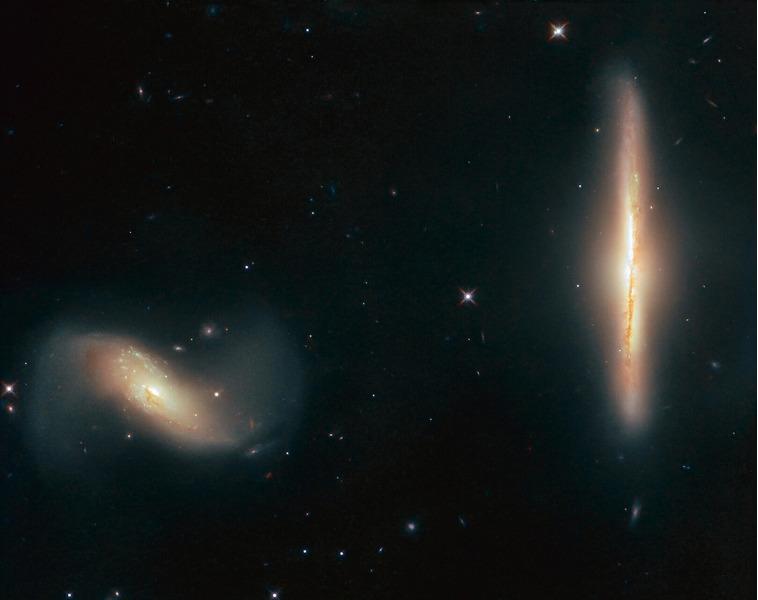 галактики Arp 293