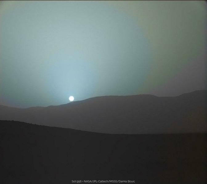 Марсианский закат