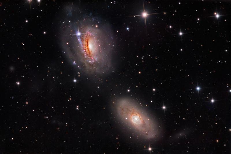 галактика NGC 3169