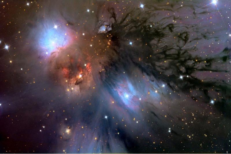 пылевая туманность NGC 2170