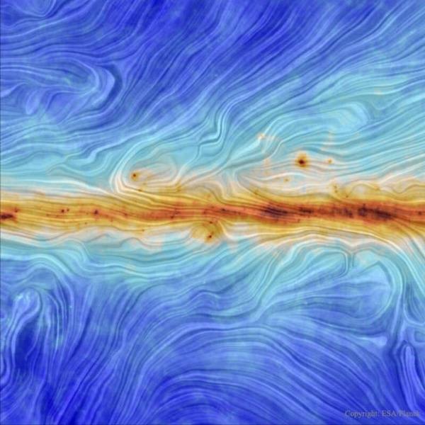 Магнитное поле галактики Млечный Путь