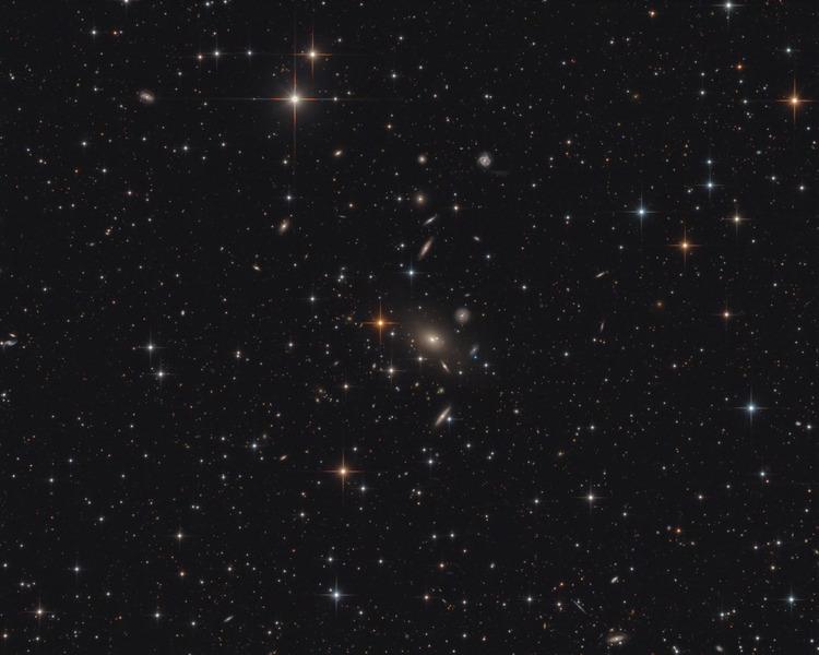 Скопление галактик Abell 2666