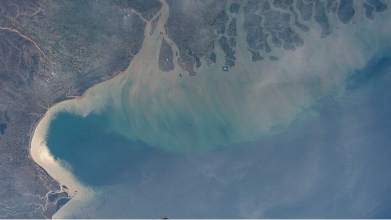 Индия, Бангладеш и воды Бенгальского залива