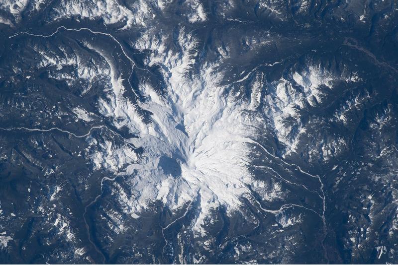 Гора Рейнир - стратовулкан в штате Вашингтон, США