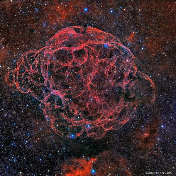 Остаток сверхновой Симеиз 147