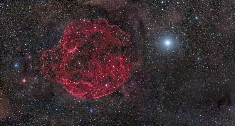 Остаток сверхновой Симеиз 147 (Simeis 147)