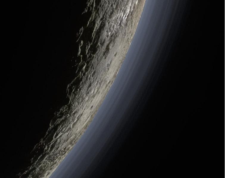 снимки Плутoна от аппарата New Horizons