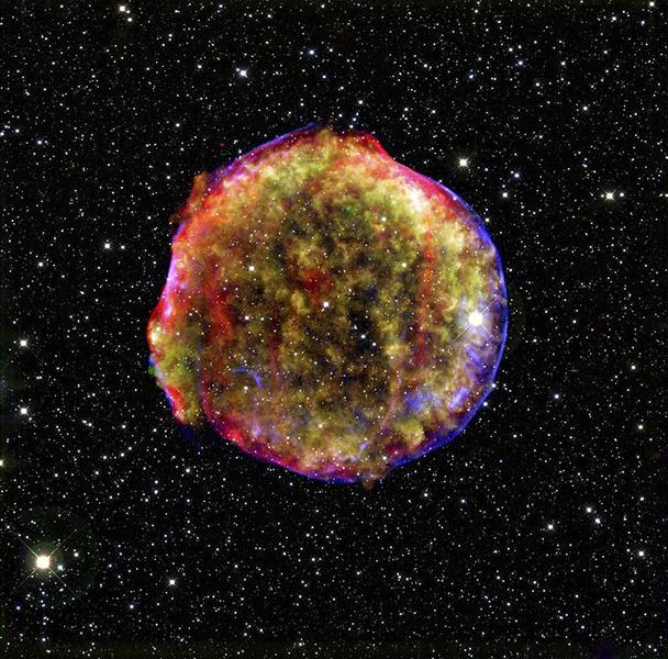 Остаток сверхновой SN 1572