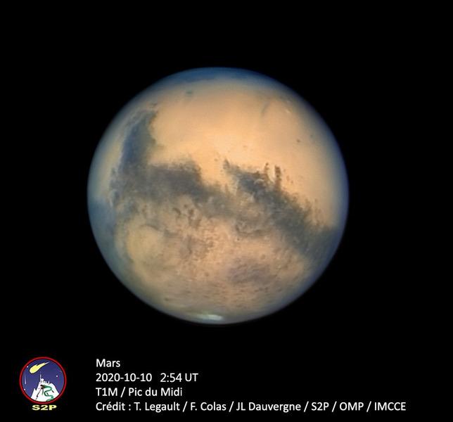 Марс на близком расстоянии к Земле