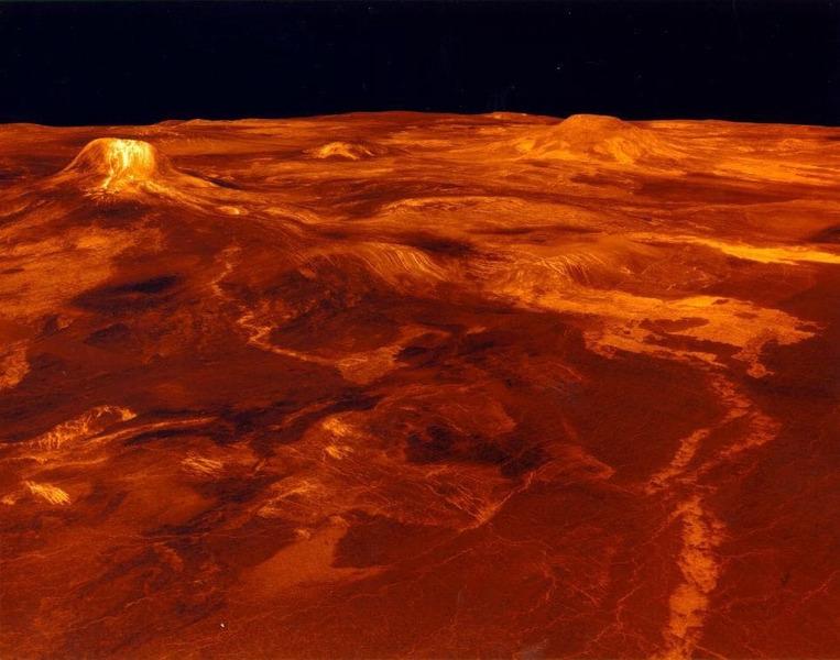 Изображения поверхности Венеры