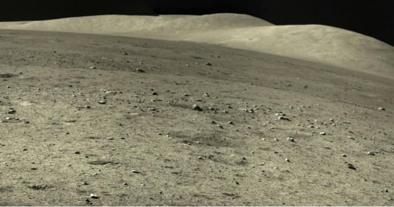 Фото луны сделанные Китайским зондом Чанъэ-5