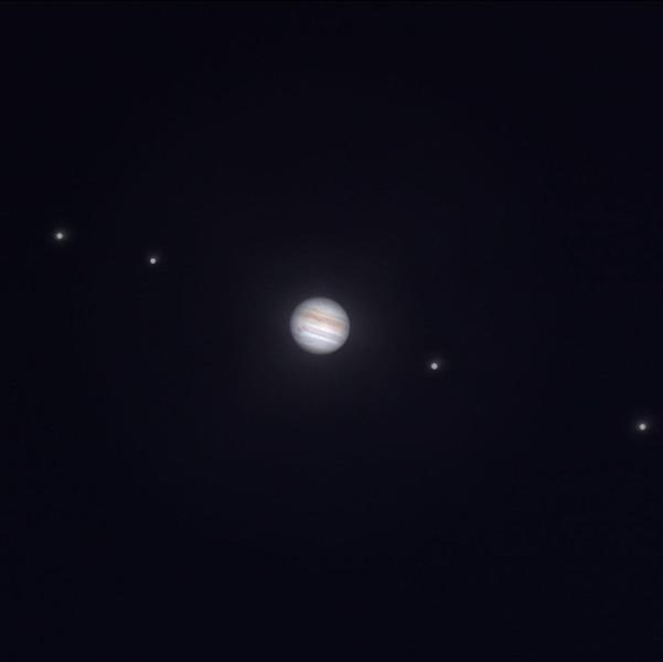 Сближение Юпитера и Сатурна
