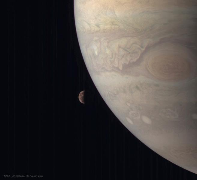 Юпитер и Ганимед