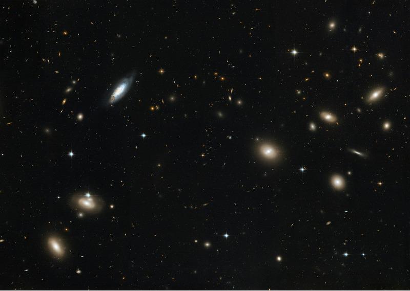 Скопление галактик Волосы Вероники