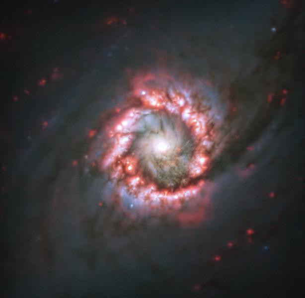 Галактика NGC 1097