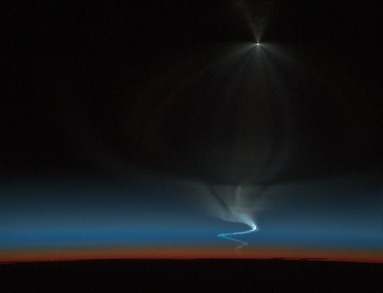 Запуск транспортного корабля Союз МС-11